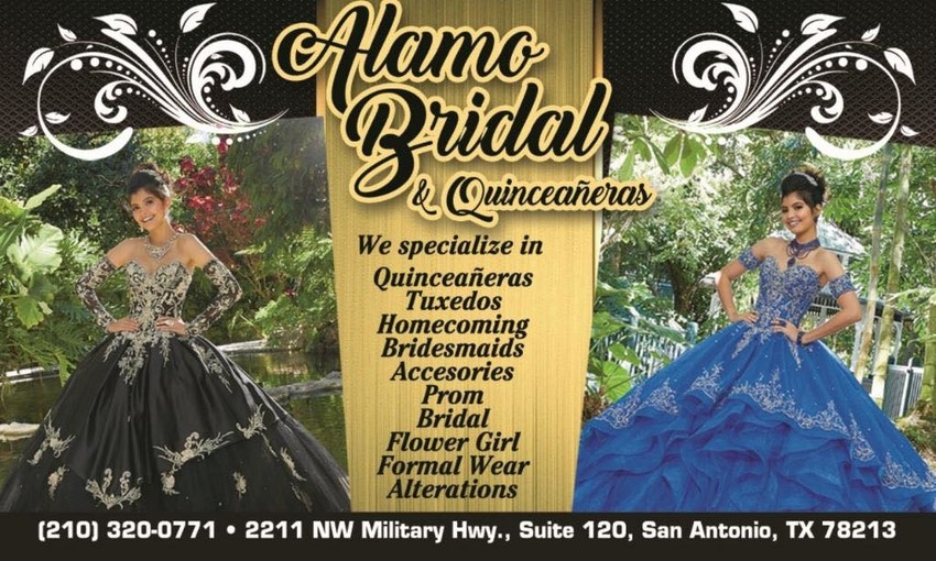 Alamo Bridal Quinceanera Dresses