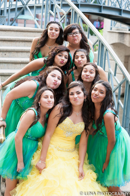 Luna Quinceanera Photography San Antonio