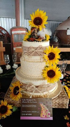 sunflower cake san antonio